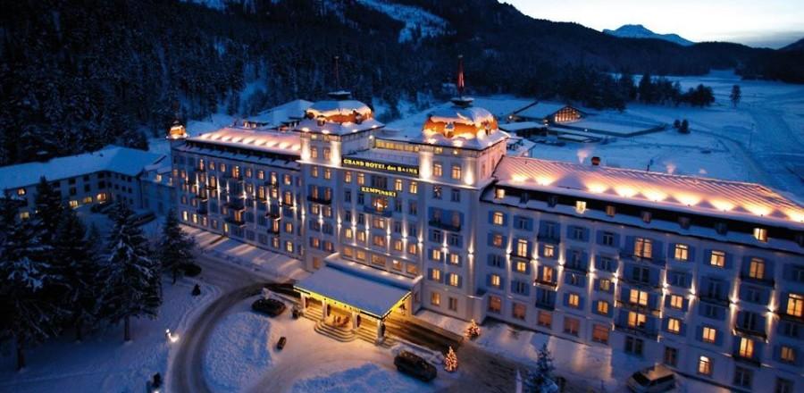 Санкт-Мориц — самый известный и аристократичный горнолыжный курорт