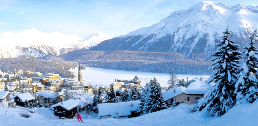 Санкт-Мориц (St. Moritz) один из самых знаменитых и элитных горнолыжных курортов