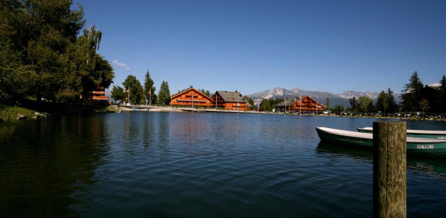 Состоит горнолыжный курорт Кран-Монтана из двух городков — Кран и Монтана.