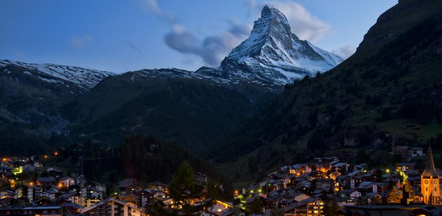Церматт — горнолыжный рай Швейцарии.