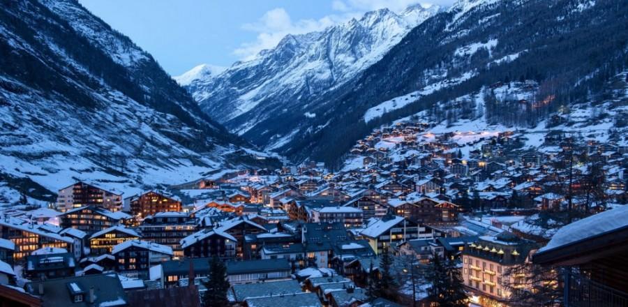 Церматт — один из лучших альпийских курортов в Швейцарии.