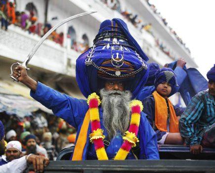 Холла Мохалла — фестиваль сикхов в Индии