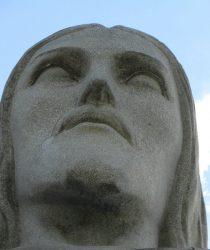Голова статуи Христа-Искупителя