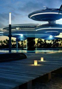 Подводный отель Hydropolis Undersea Resort в Дубае