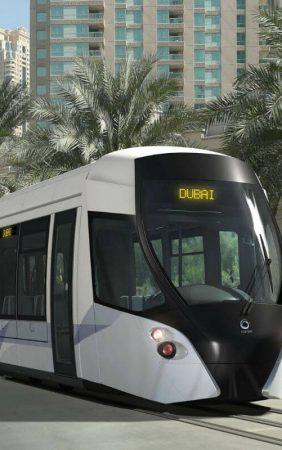 Трамвай в Дубаях не похож на традиционный русский
