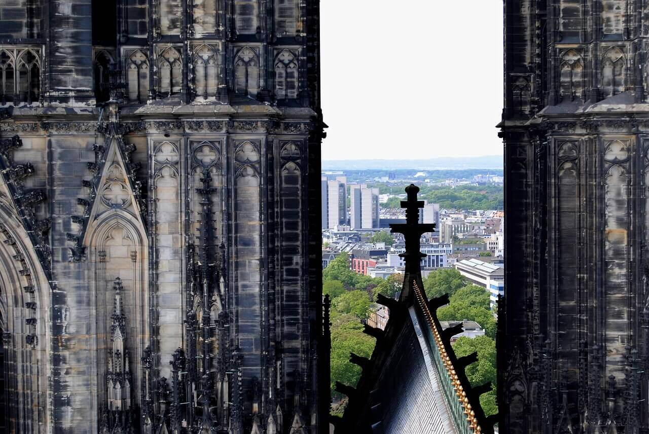 Вид с Кельнского собора