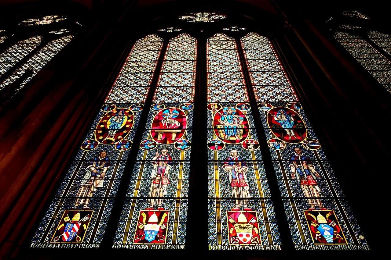 Витражи Кельнского собора