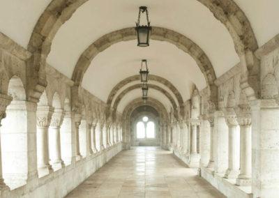 Арочный коридор в бастионе
