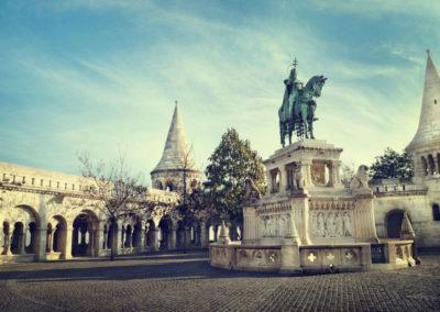 Памятник Иштвану Великому в Старой Буде
