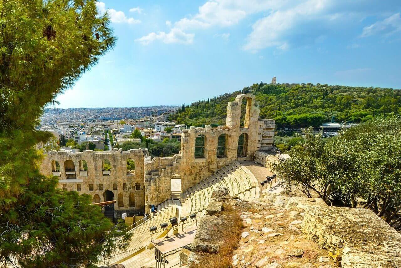 Амфитеатр Одеон Герода Аттика