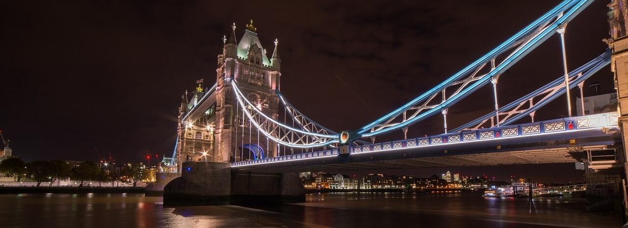 Тауэрский мост — знаменитый символ Великобритании
