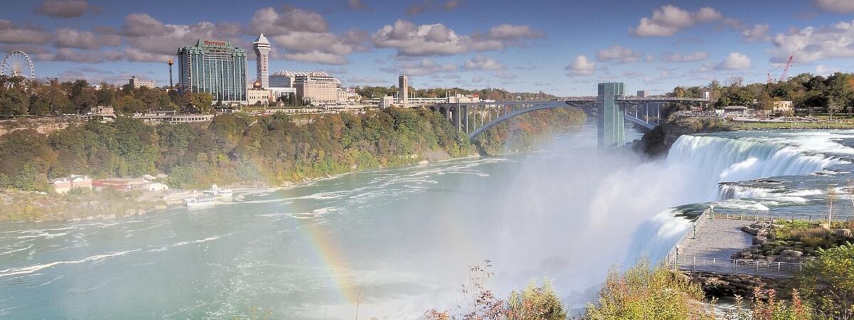 Ниагарский водопад — одно из красивейших чудес природы