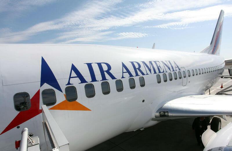 Новая тарифная политика авиакомпании Armenia