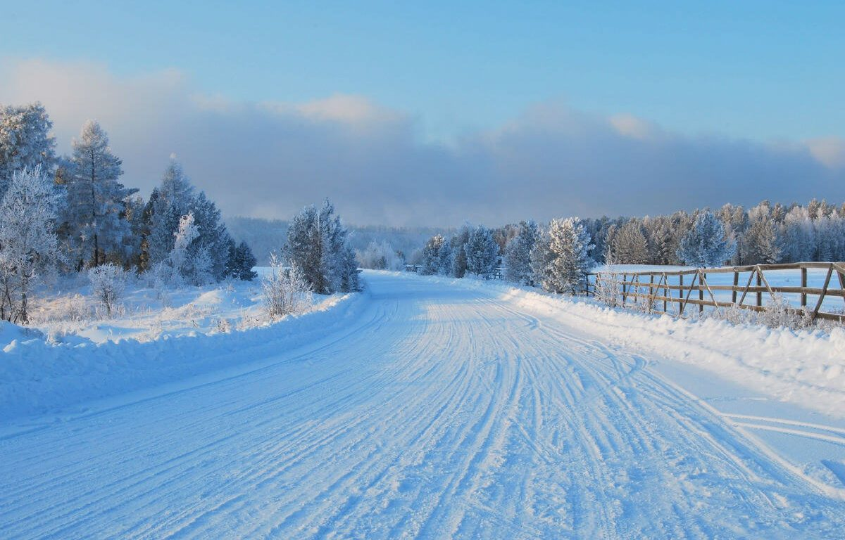 Уезжая в Финляндию меняем резину
