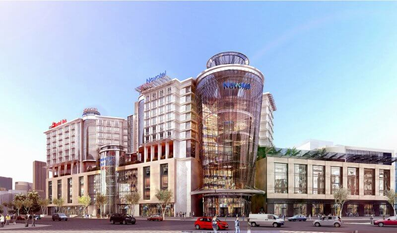 Новые отели в Москве