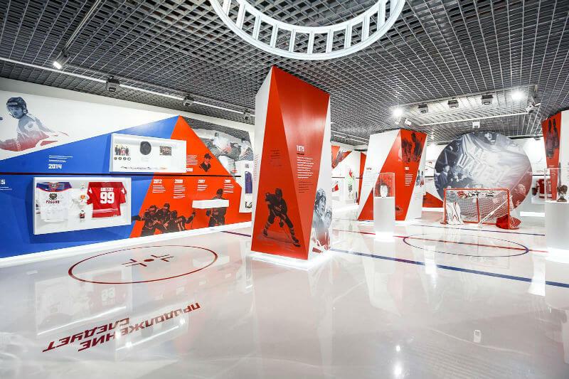 В Музее хоккея – новая выставка