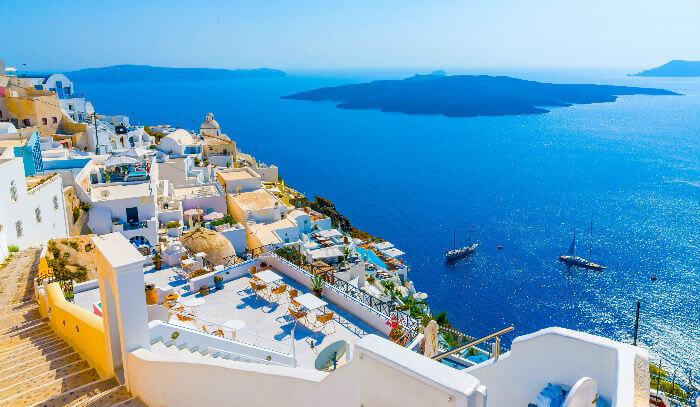 Санторини признан самым красивым островом в туризме