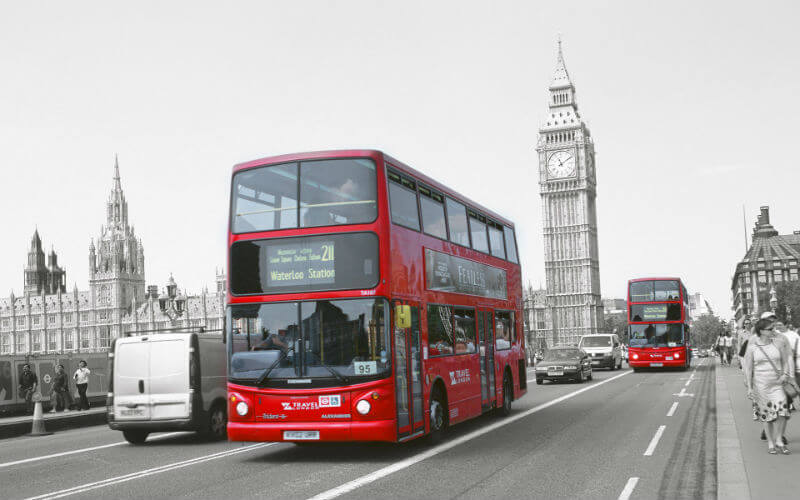 Великобритания без поездов и автобусов