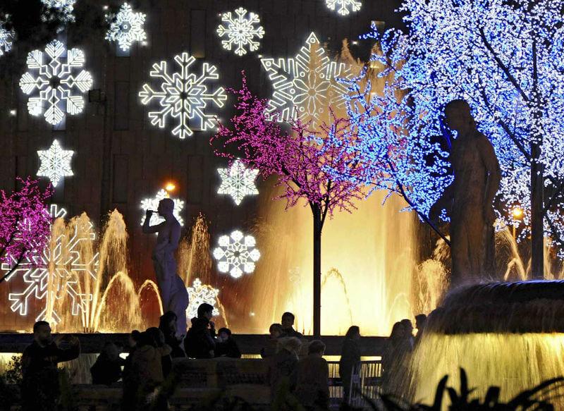 Барселона встречает Рождество Христово
