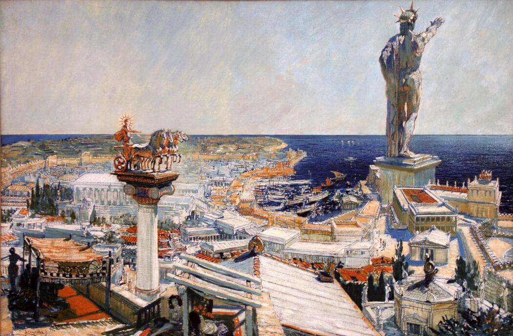 Картина «Колосс Родосский»