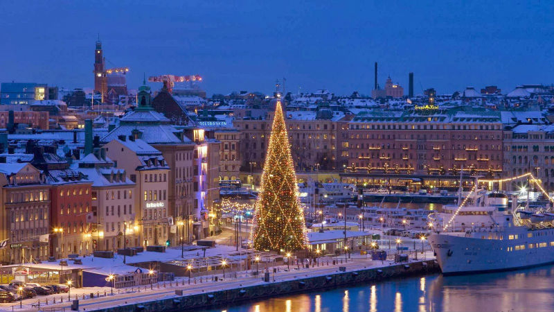 На пароме в Хельсинки и Стокгольм