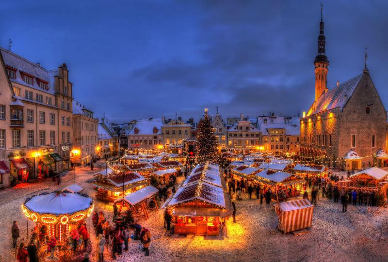Отдых зимой в Эстонии
