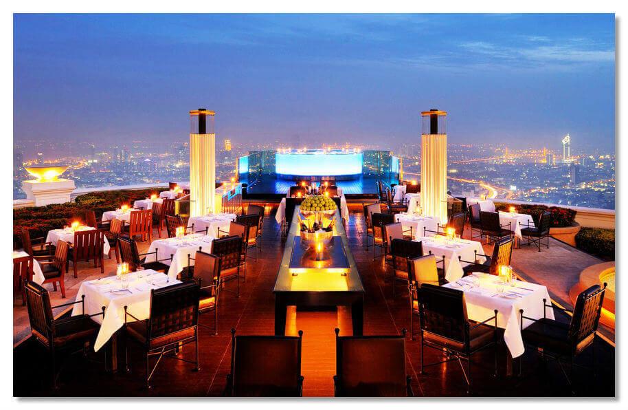 Париж, Эйфелевая башня, элитный ресторан Le Jules Verne