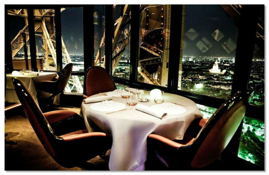 Рестораны Эйфелевой башни
