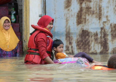 Больше всего от наводнения пострадал юг Таиланда