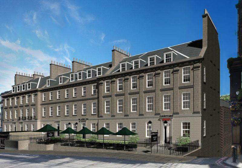 В Эдинбурге новый отель