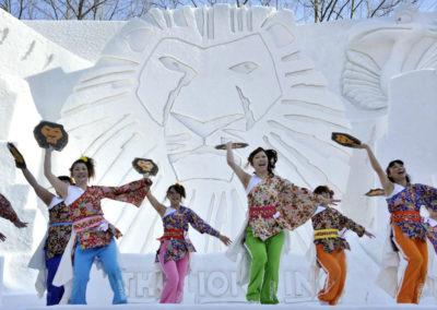 Фестиваль в Саппоро