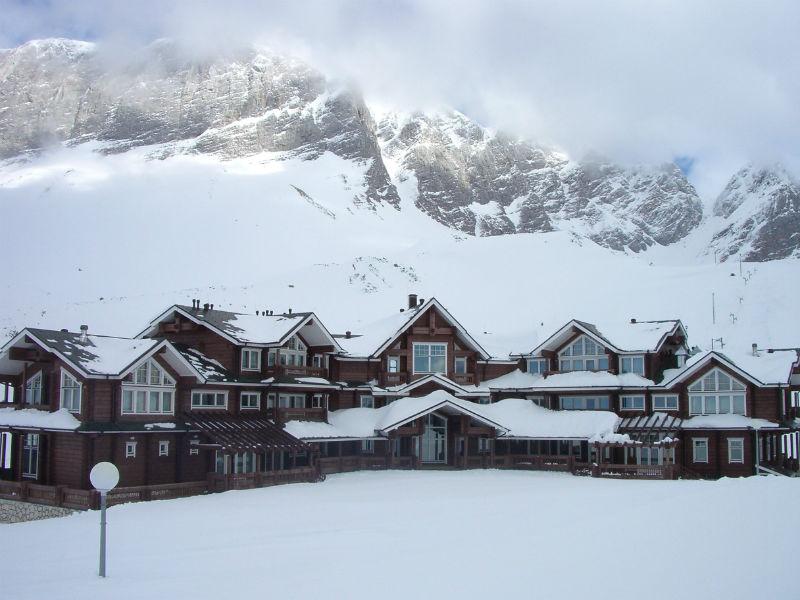 Адыгея оказалась более снежной, чем Европа