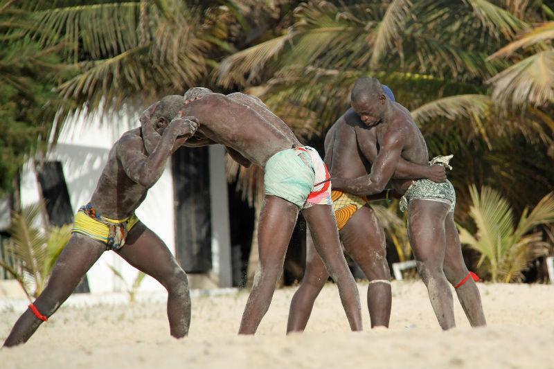 На отдых в Гамбию