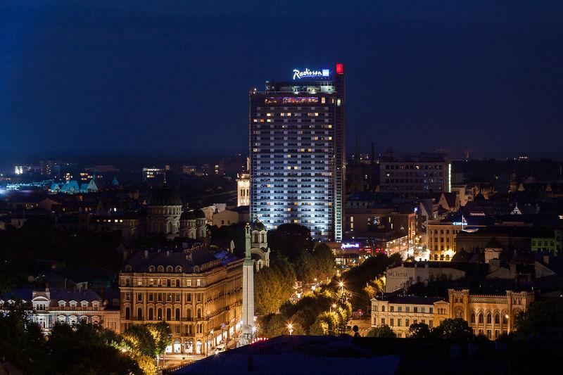 Новый отель в Риге
