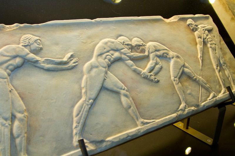 Древнегреческие ценности в Чили