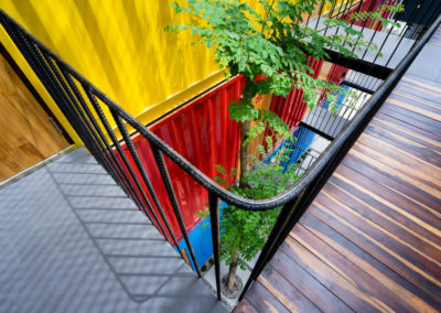 Вид с лестницы