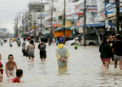 Затоплен юг Таиланда