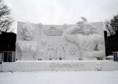 фестиваль снега Sapporo