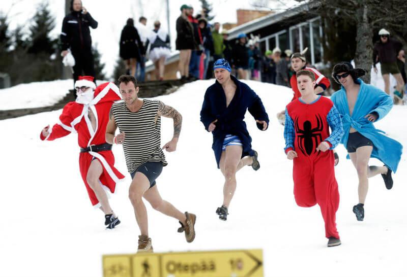Банный марафон в Эстонии