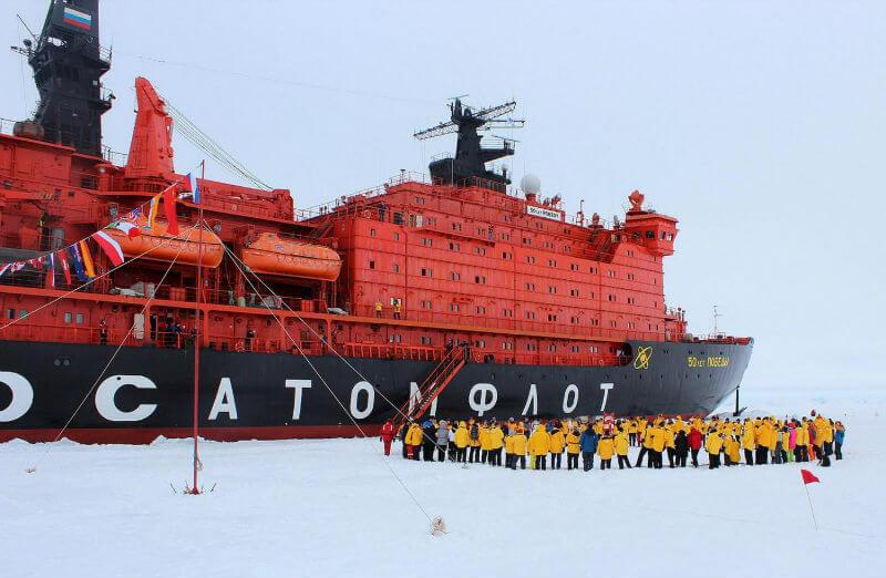 Скоро открывается сезон круизов на Северный полюс
