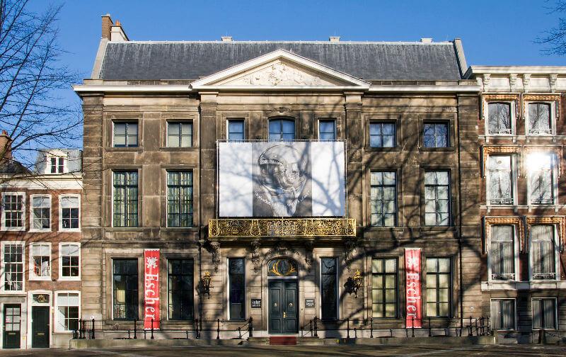 Выставка Эшера в Мадриде