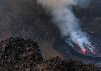 Ньирагонго — вулкан Конго или врата в ад Африки