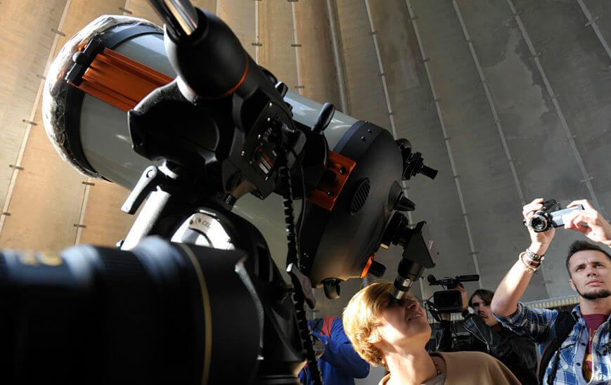 Обсерватория открывает сезон