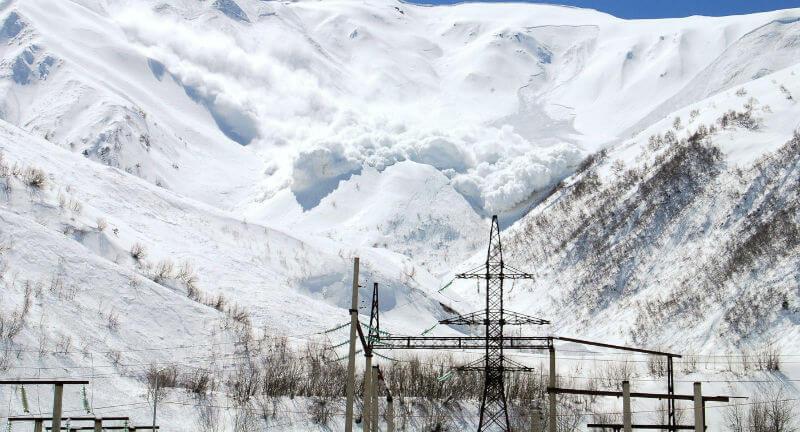 Опасность схода лавин