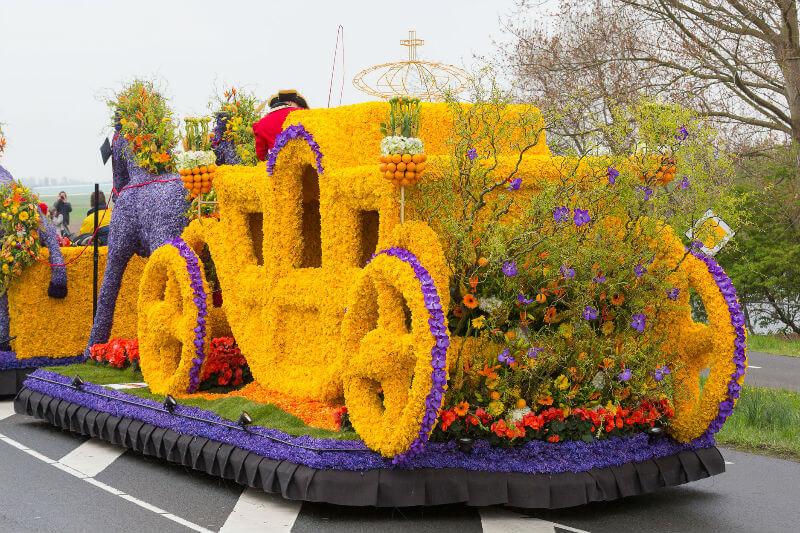 Праздник цветов в Голландии