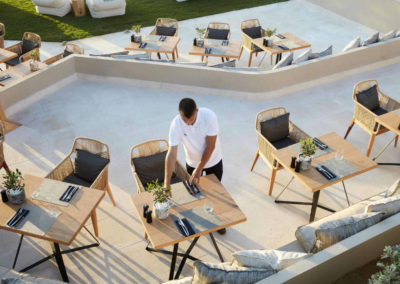 Ресторан отеля Domes Noruz Chania