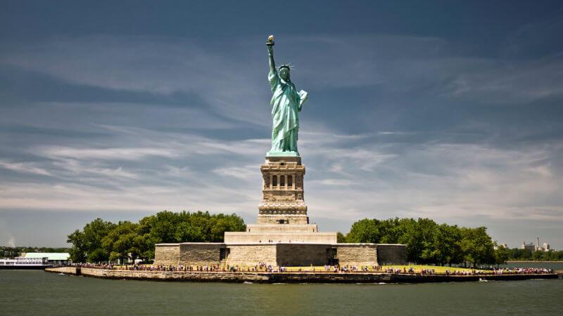 Территорию вокруг Статуи Свободы обновят