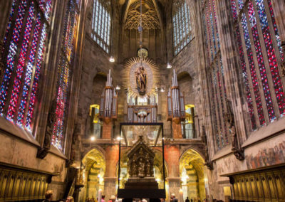 Ахенский собор внутри