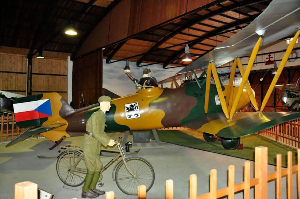 Авиационный музей Кбелы открывает сезон