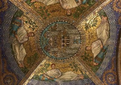 Потолочные мозаики в Ахенском соборе